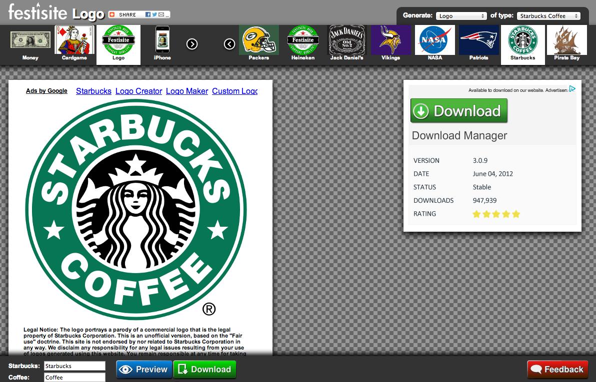 Logo starbucks coffee festisite http www festisite com logo