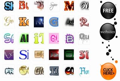 多岐に渡るデザインから様々なロゴを生成可能なジェネレータです。