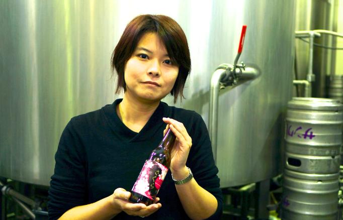 コンペから今春商品化する地ビールのラベルを採用:サンクトガーレン有限会社 中川美希さん
